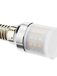 4W E14 LED a pannocchia T 48 SMD 3014 320 lm Bianco caldo AC 220-240 V
