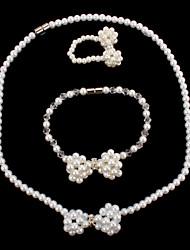 Women's Jewelry Set Imitation Pearl