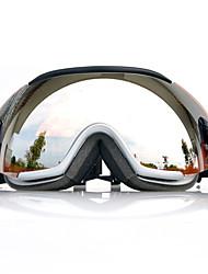 BASTO Schnee googgles Brown White Frame Sensor Spiegeltele