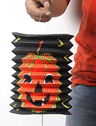 citrouille modèle cylindrique souple Halloween lanterne de papier