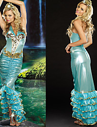 Attractive Mermaid Blue Women's Costume
