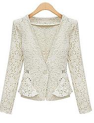 Moon Sunday Women's Lace Cut Out Cardigan Coat
