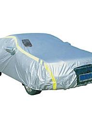 tirol® отражающий покрытие автомобиля Размер M / L / XL универсальный с 2 пвх окон прозрачности непогоды 170T полиэстер
