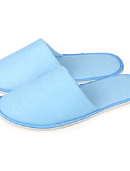 Moderne Light Blue Hôtel Guest Slipper antidérapant