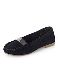 Suede Low Heel Flats With Sequin Shoes(More Colors)