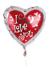mariage décor coeur métallique ballon - je t'aime