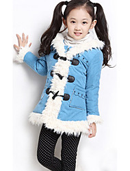 Girl's Jacket & Coat Others / Cotton Blend Winter
