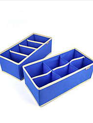 2 Pieces Storage Box 4 Cells and 6 Cells 34cm*16cm*12cm