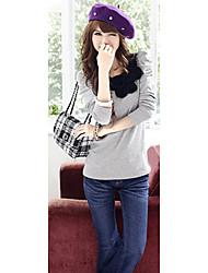 Women's Tops & Blouses , Cotton Blend Casual/Work INNA