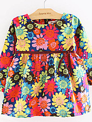 Floral Print Girl Dress soleil