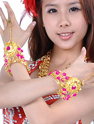 Performance Dancewear Alloy Belly Dance Bracelet For Ladies(1 Pair)
