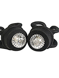 2pcs Silicone Bike Head Rear Wheel LED Flash Light