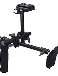 DSLR Video Camcorder Handle Shoulder Support Stabilizer Rig Quick Release Plate