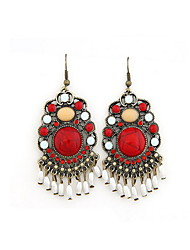Bohemia Charming Alloy With Rhinestone Beads Earrings For Women