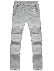 HOMBRES de bordado causales Pantalones deportivos