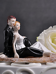 "Cake Toppers ""Romantic Moment On The Beach"" Cake Topper"