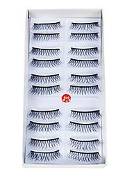 New 10 Pairs Handmade Thick Curl Long False Eyelashes