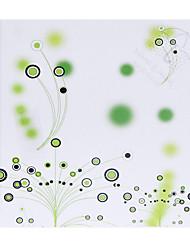 Motif de Cercle Vert personnalisé papier pétale Cônes - Ensemble de 12