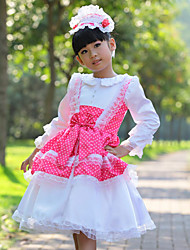 Girl's Dress Polyester Summer