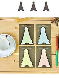 Paris Toren Gevormd Sticky Notes (willekeurige kleur)