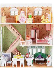 Maison casse-tête de 160 morceaux de 3D princesse