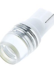 T10 W5W 168 194 W5W 1W Lens LED Light Side Wedge Lamp Bulb White