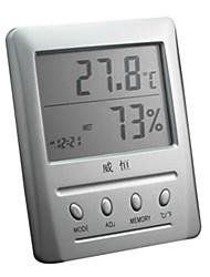 Classic Alarm Clock With Temperature Display