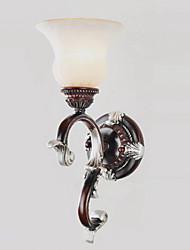 UMEI™ Mini Wall Light, 1 Light, Creative Iron Glass Painting Processing