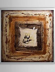 Resumen En la pintura al óleo enmarcada Bueno