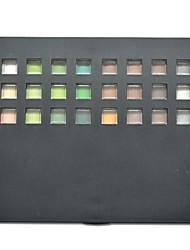 96 Lidschattenpalette Schimmer Lidschatten-Palette Puder Groß Alltag Make-up / Smokey Makeup / Feen Makeup