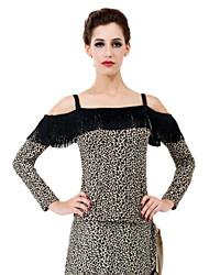 Moda Dancewear Viscose Top Dança para Senhoras