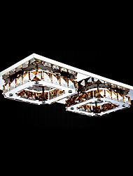 umei ™ привело кристалл для установки заподлицо, 2 свет, современный янтарным гальванического из нержавеющей стали