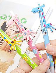Girafe stylos à bille de style (couleur aléatoire)