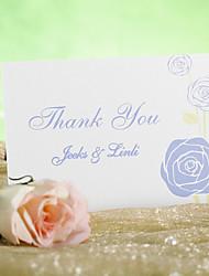 Inviti di nozze Biglietti di Ringraziamento Cartoncino piatto Non personalizzate