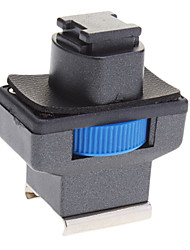 Mini Hot Shoe Adapter for Sony Camcorder LED Light (Blue)