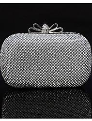 Sundrey Handmade Diamonade Evening Bag/Clutches(03977-3)Silver