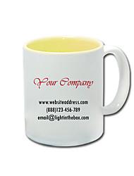 Negócios personalizado Estilo amarelo canecas