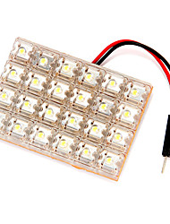 24 LED Car Light Panel Flat White
