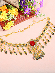 Performance Alloy Belly Dance Headpiece For Ladies