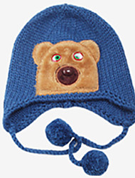 Children's Cartoon Bear Head Hat