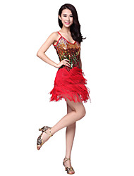 Dancewear Polyester Latin Dance Kleid für Damen (weitere Farben)
