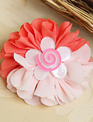 Handmade White Flower Vliesstoff Sweet Lolita Haar-Ring