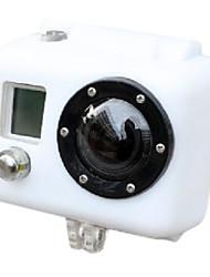 Funda de Silicona para GoPro HD Hero2 - Blanco