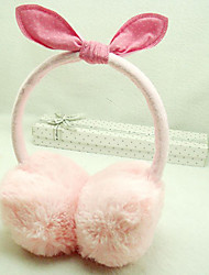Children's Rabbit Ear Plush Earmuffs(Random Color)