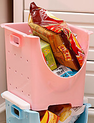 Contemporary Plastic Storage Box - 5 Colors Available