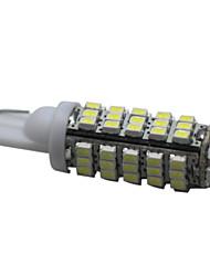 42 milímetros 68 SMD LED luzes t10 cunha carro de viragem / licença lâmpadas 6W branco 10pcs/lot scl26
