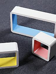Modern Creative Carbon Fiber Storage Shelf (3 Pieces)