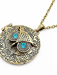 Jewelry Pendant Necklaces / Vintage Necklaces Party / Daily Alloy Women Bronze Wedding Gifts