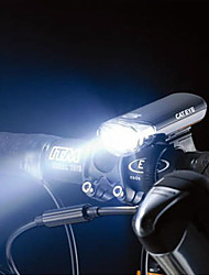 5 vélo conduit devant de sécurité lumière noire
