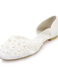 Women's Wedding Shoes D'Orsay & Two-Piece Flats Wedding Ivory